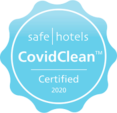 Safehotels CovidClean Certificate stamp  - kopia