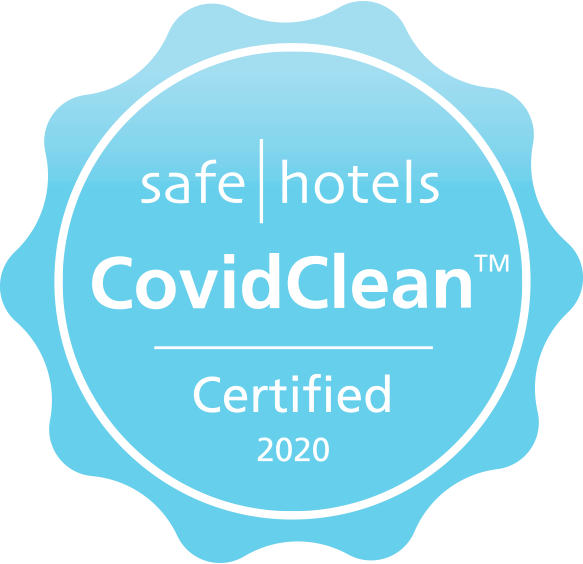 Safehotels CovidClean Certificate stamp